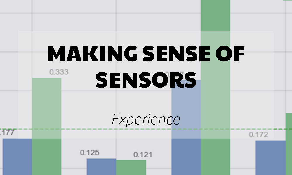 Making senso of sensors banner